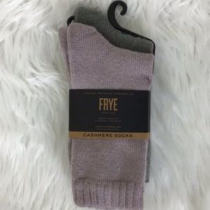 Frye Accessories - 🆕🌸🌺FRYE Cashmere socks🌈🆕
